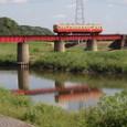 水面の列車